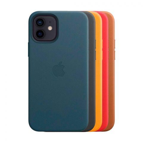 Кожаный чехол для iPhone 12 Mini Leather Case with MagSafe