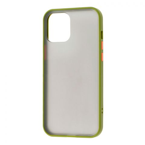 Чехол для iPhone 12 Mini LikGus Maxshield-Green