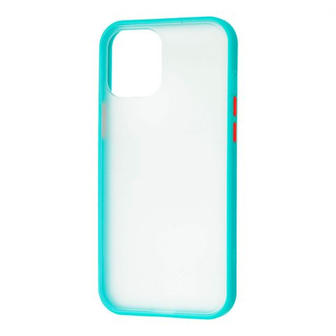 Чехол для iPhone 12 Mini LikGus Maxshield-Turquoise