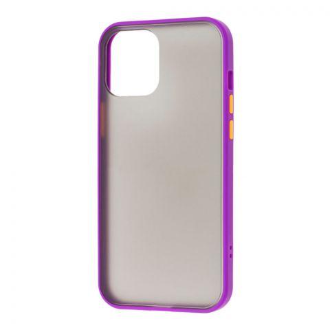 Чехол для iPhone 12 Mini LikGus Maxshield-Violet