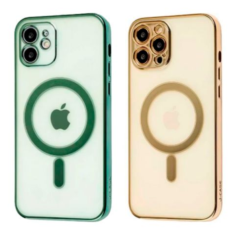 Чехол для iPhone 12 Mini MagSafe J-case с защитой камеры