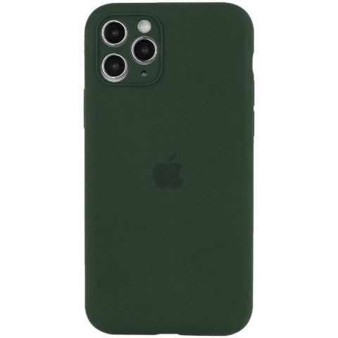 Чехол для iPhone 12 Mini Silicone Case Full Camera Protective (с защитой камеры)-Cyprus Green