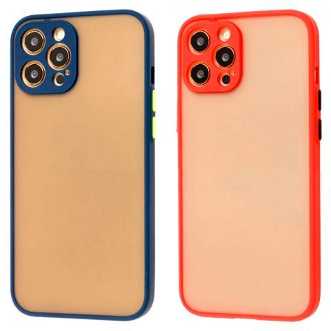 Чехол для iPhone 12 / 12 Pro LikGus Totu с защитой камеры