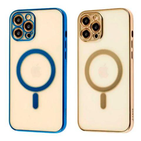 Чехол для iPhone 12 / 12 Pro MagSafe J-case с защитой камеры