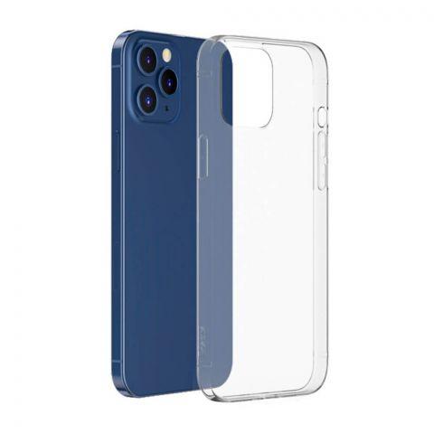 Тонкий прозрачный чехол для iPhone 12 Pro Max Baseus Simple Case Transparent