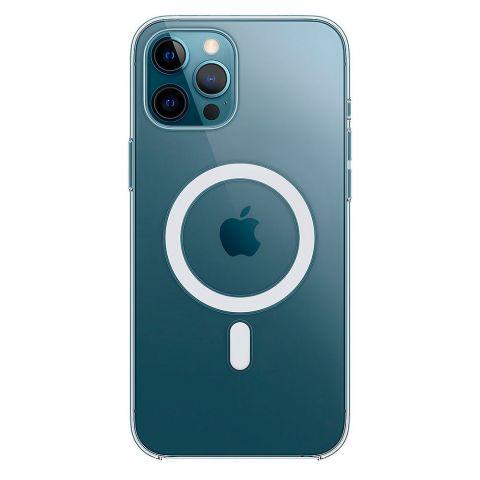 Прозрачный чехол для iPhone 12 Pro Max Clear Case With MagSafe