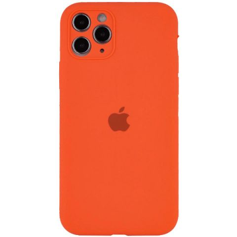 Чехол для iPhone 12 Pro Max Silicone Case Full Camera Protective (с защитой камеры)-Kumquat
