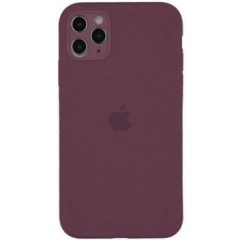 Чехол для iPhone 12 Pro Max Silicone Case Full Camera Protective (с защитой камеры)-Lilac Pride