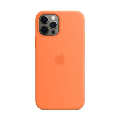 Силиконовый чехол для iPhone 12 Pro Max Silicone Case MagSafe-Kumquat