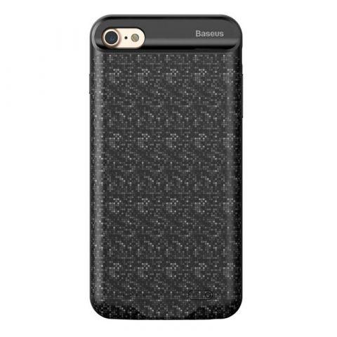 Чехол-аккумулятор для iPhone 7 Plus / 8 Plus Baseus Plaid Backpack Power Bank 3650mAh-Black