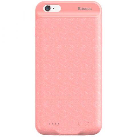 Чехол-аккумулятор для iPhone 7/8 Baseus Plaid Backpack Power Bank 2500mAh-Pink