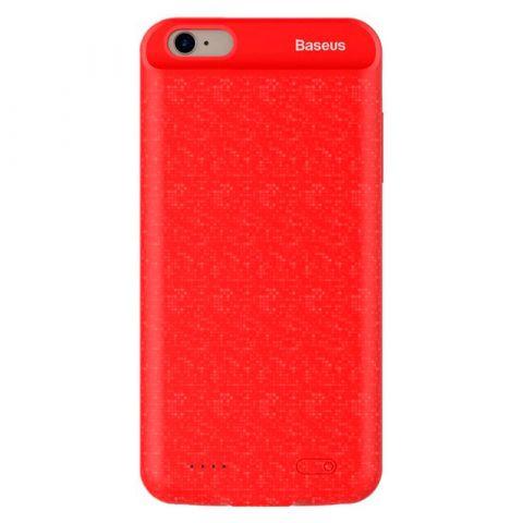 Чехол-аккумулятор для iPhone 7/8 Baseus Plaid Backpack Power Bank 2500mAh-Red