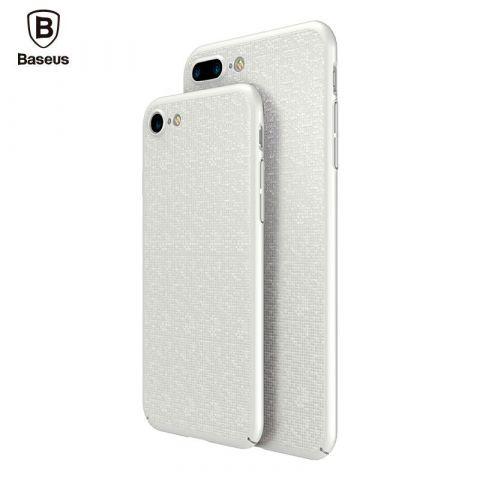 Чехол для iPhone 7 Plus / 8 Plus Baseus Plaid Slim Cover-White