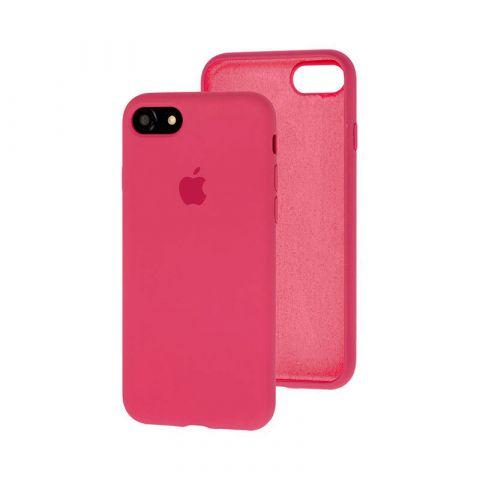 Силиконовый чехол для iPhone 7/8 Silicone Case Full (с закрытой нижней частью)-Dragon Fruit