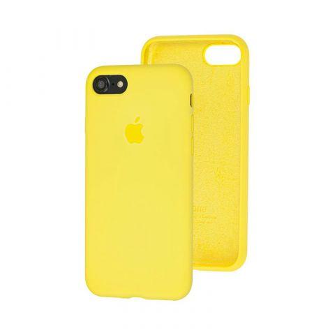 Силиконовый чехол для iPhone 7/8 Silicone Case Full (с закрытой нижней частью)-Flash