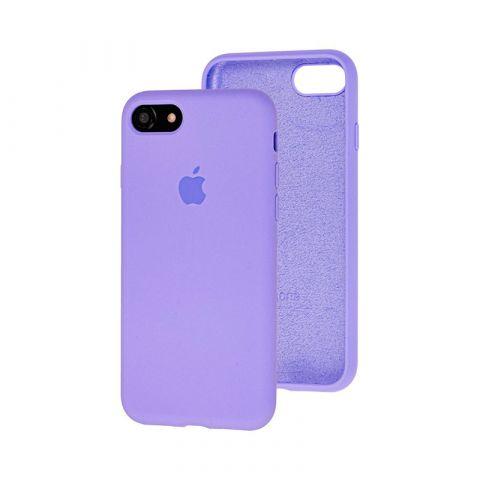 Силиконовый чехол для iPhone 7/8 Silicone Case Full (с закрытой нижней частью)-Glycine