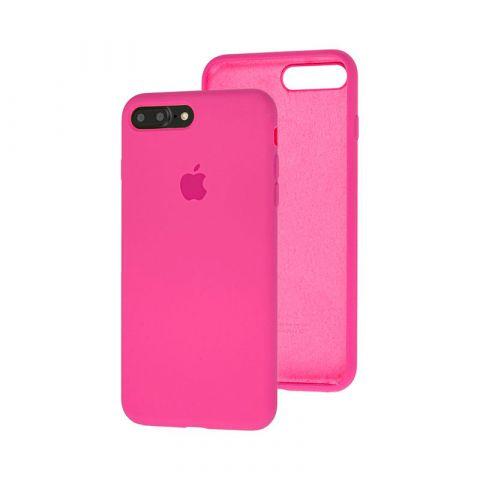 Силиконовый чехол для iPhone 7 Plus / 8 Plus Silicone Case Full (с закрытой нижней частью)-Dragon Fruit