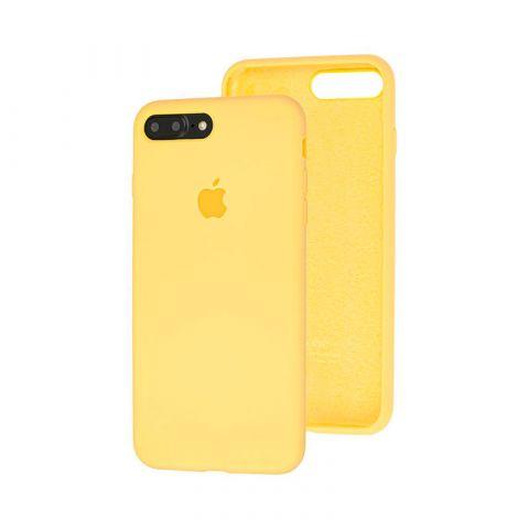 Силиконовый чехол для iPhone 7 Plus / 8 Plus Silicone Case Full (с закрытой нижней частью)-Flash