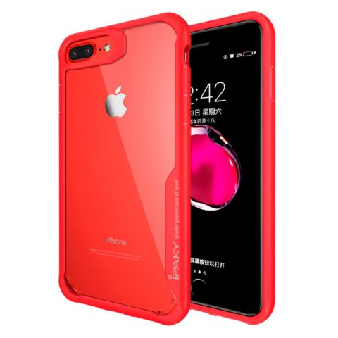 Чехол для iPhone 7/8 iPaky Auto Focus -Red