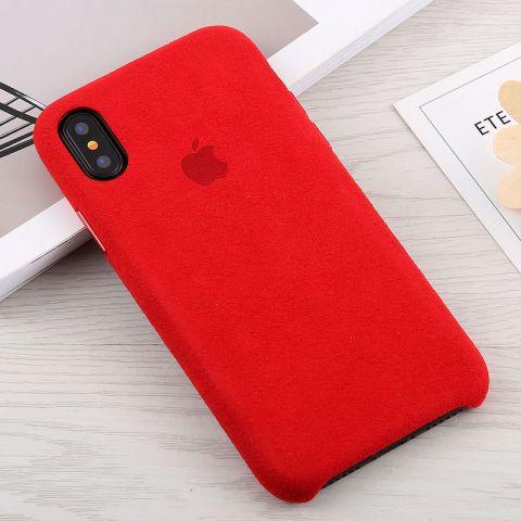 Чехол для iPhone X/XS Alcantara Case