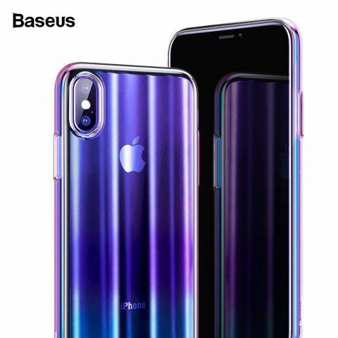 Чехол для iPhone X/XS Baseus Aurora Case