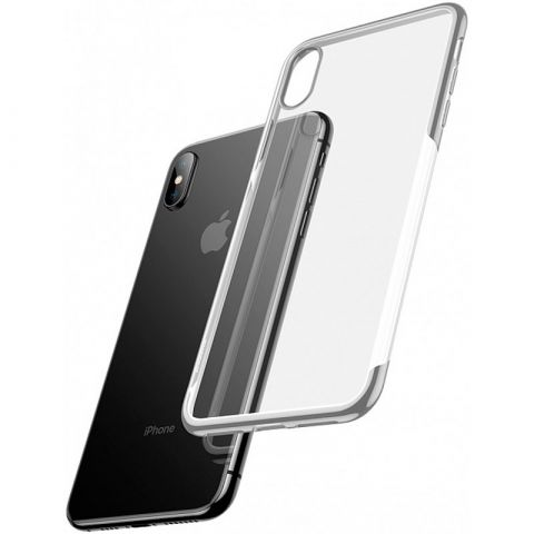 Чехол для iPhone X/XS Baseus Shining Case-Silver