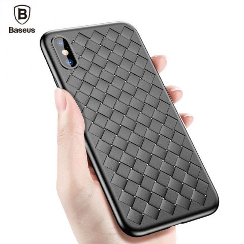 Чехол для iPhone X/XS Baseus Weaving Case