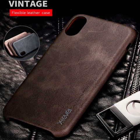 Чехол для iPhone X/XS X-Level Vintage Case