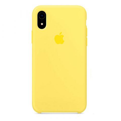 Силиконовый чехол для iPhone XR Silicone Case-Lemonade