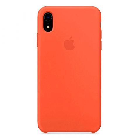 Силиконовый чехол для iPhone XR Silicone Case-Nectarine