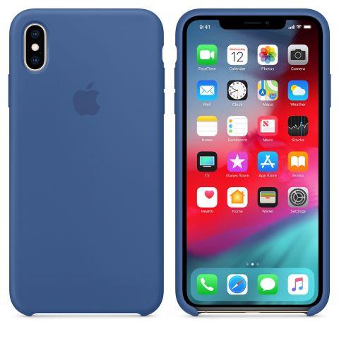 Силиконовый чехол для iPhone XS Max Apple Silicone Case-Delft Blue