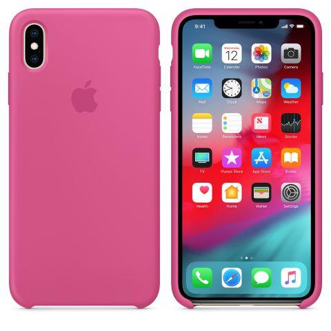 Силиконовый чехол для iPhone XS Max Apple Silicone Case-Dragon Fruit