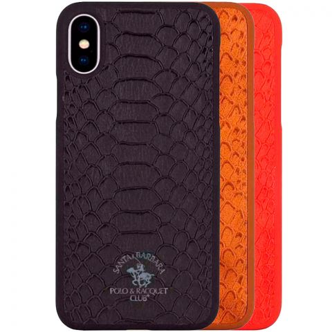 Кожаный чехол для iPhone XS Max Polo Knight Leather Case