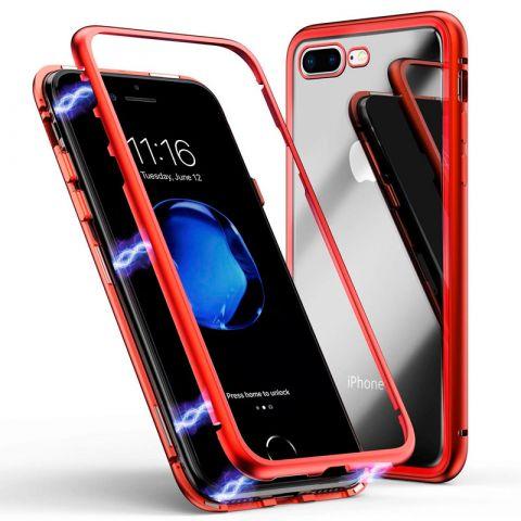 Магнитный чехол для iPhone 7/8 Rock Magnetic Case-Red