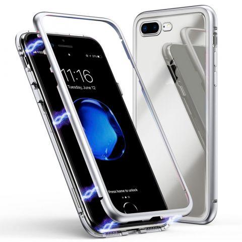 Магнитный чехол для iPhone 7/8 Rock Magnetic Case-Silver