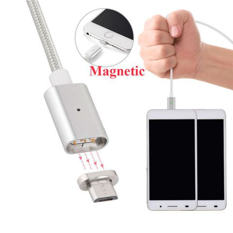 Магнитный кабель Micro usb для Android (Samsung, HTC) 2.4A