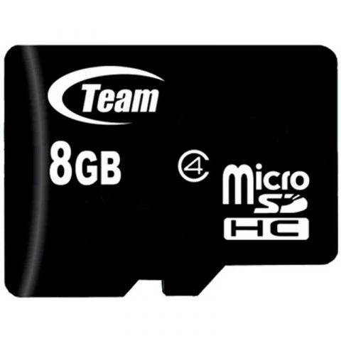 Карта памяти Team microSDHC 8Gb (Class 4)