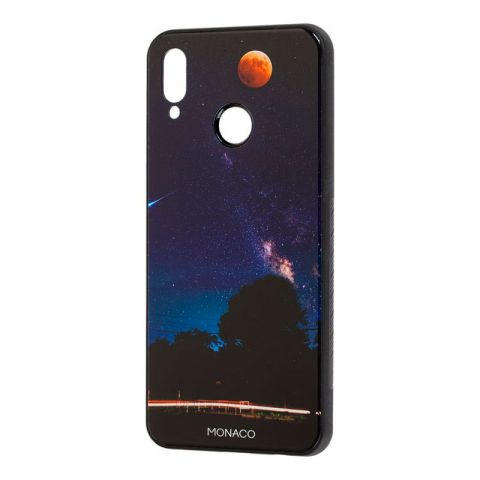 Чехол на Huawei P Smart Plus Monaco (ночное небо)