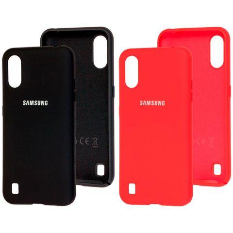 Чехол для Samsung Galaxy A01 (A015) Silicone Full