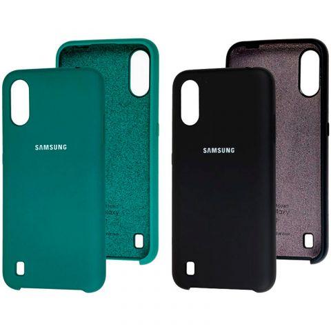 Чехол для Samsung Galaxy A01 (A015) Soft Touch Silicone Cover
