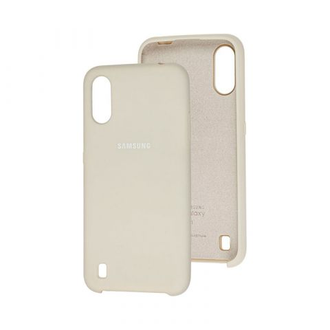 Чехол для Samsung Galaxy A01 (A015) Soft Touch Silicone Cover-Stone