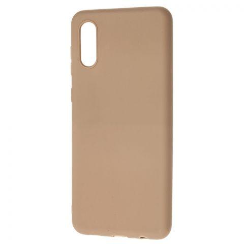 Силиконовый чехол для Samsung Galaxy A02 (A022) Candy-Brown