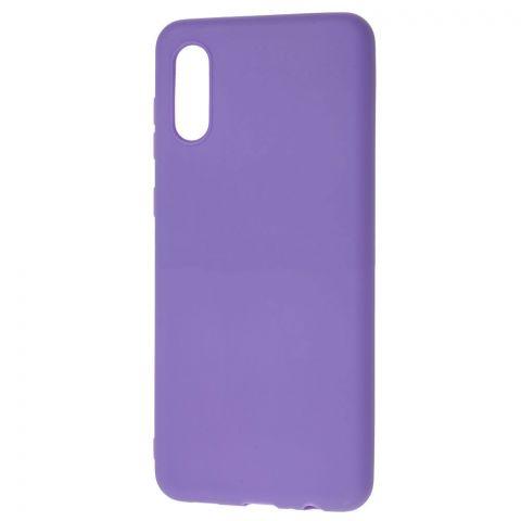 Силиконовый чехол для Samsung Galaxy A02 (A022) Candy-Violet