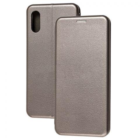 Чехол-книжка для Samsung Galaxy A02 (A022) Premium-Gray