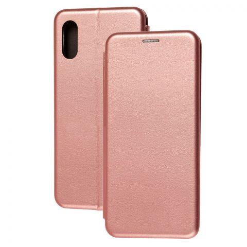 Чехол-книжка для Samsung Galaxy A02 (A022) Premium-Rose Gold