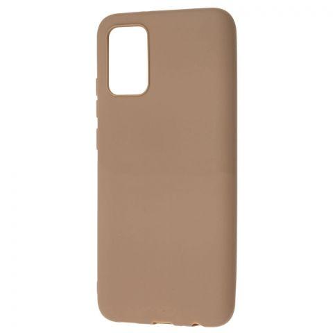 Силиконовый чехол для Samsung Galaxy A02s (A025) Candy-Brown