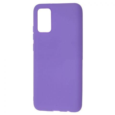 Силиконовый чехол для Samsung Galaxy A02s (A025) Candy-Violet