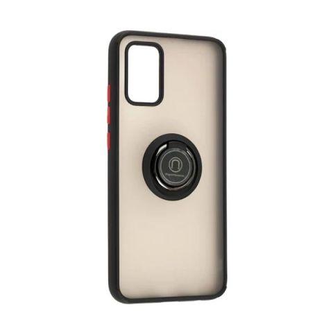 Чехол для Samsung Galaxy A02s (A025) LikGus Edging Ring-Black/Red