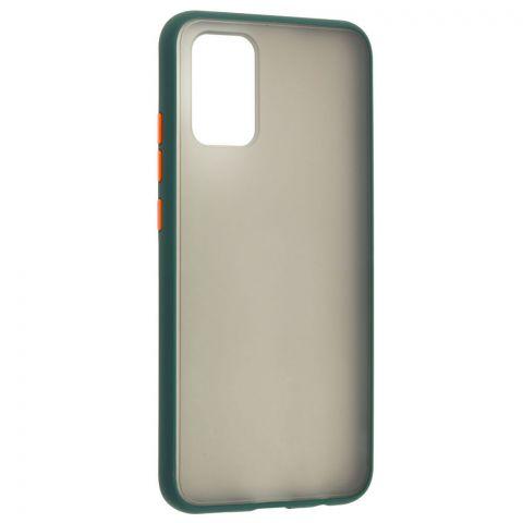 Чехол для Samsung Galaxy A02s (A025) LikGus Maxshield-Dark Olive