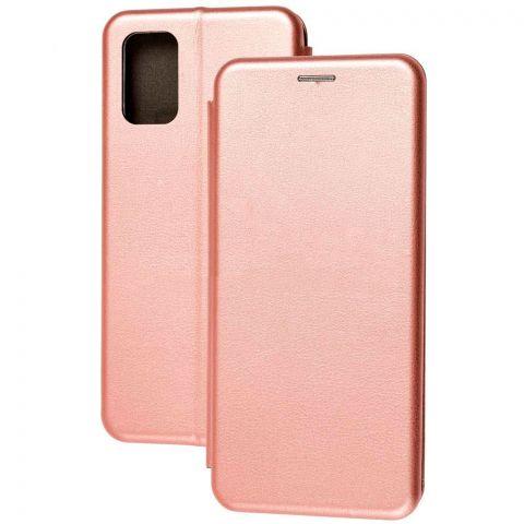 Чехол-книжка для Samsung Galaxy A02s (A025) Premium-Rose Gold